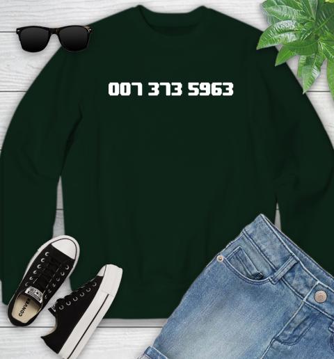 007 373 shirt Youth Sweatshirt 9