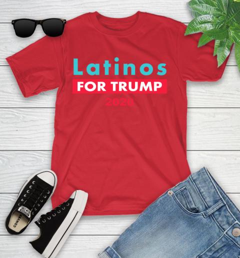 Latinos Trump 2020 Youth T-Shirt 10