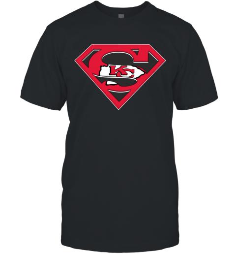 NFL Kansas City Chiefs LOGO Superman T-Shirt