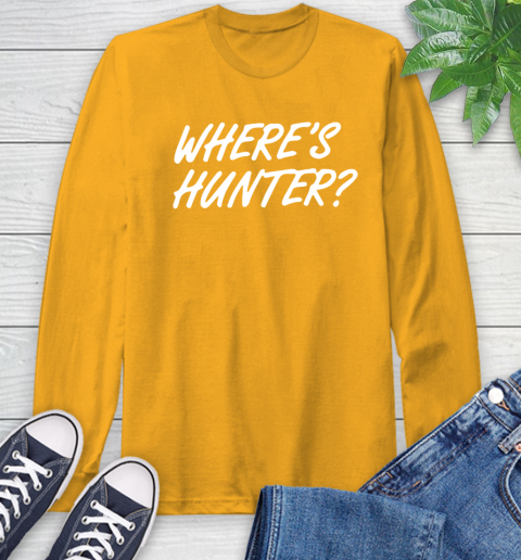 Where Is Hunter Long Sleeve T-Shirt 2
