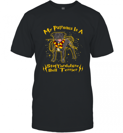 My Patronus Is A Golden BULL TERRIER T-Shirt