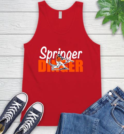 Houston Springer Dinger Fan Shirt Tank Top 5