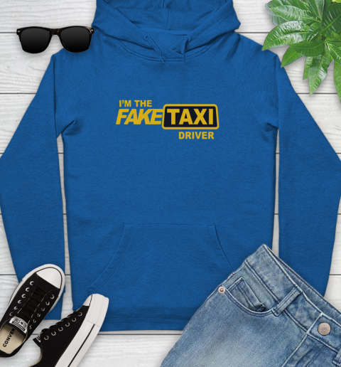 I am the Fake taxi driver Youth Hoodie 9