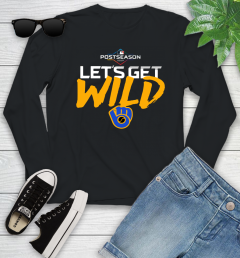 Brewers Wild Card Youth Long Sleeve