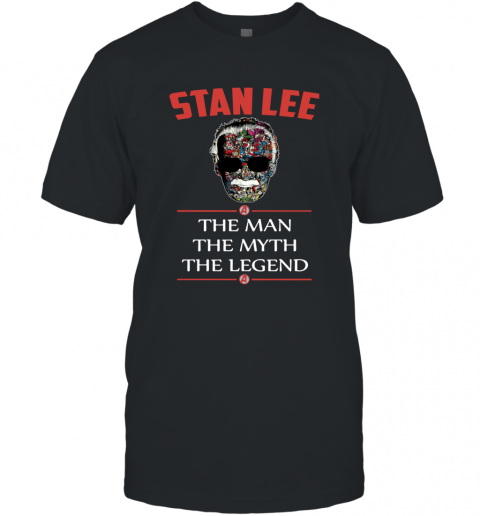 Super Hero Marvel Stan Lee Thanks for the Memories T-Shirt