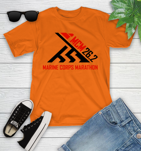 2018 Marine Corps Marathon Youth T-Shirt 4
