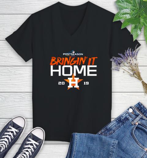 Bringing It Home Astros Women's V-Neck T-Shirt