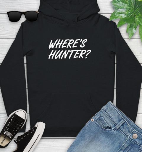 Where Is Hunter Youth Hoodie
