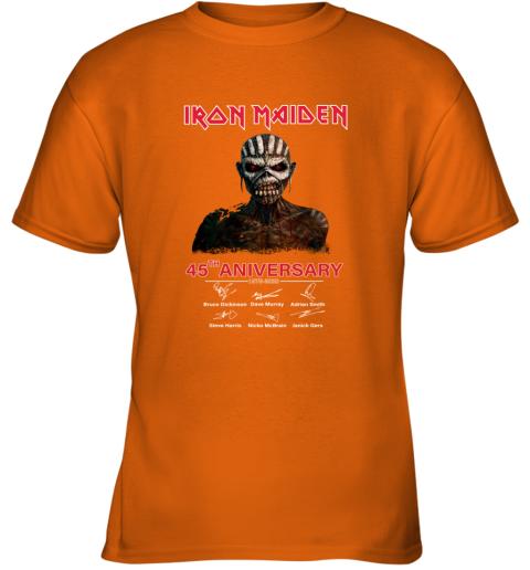 1975 2020 Iron Maiden 45th Anniversary Youth T-Shirt