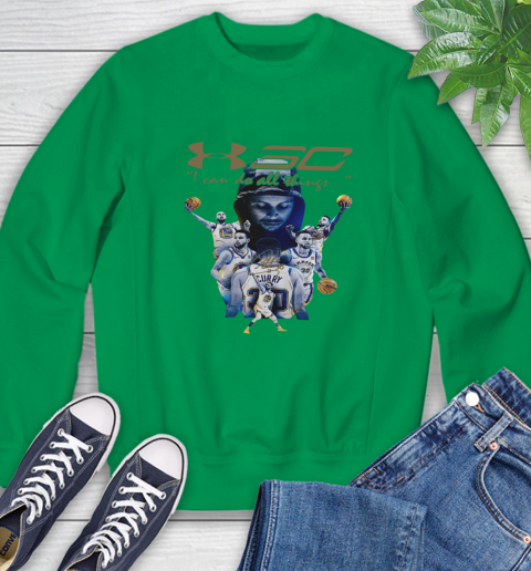 Stephen Curry I Can Do All Things Signature Sweatshirt 7