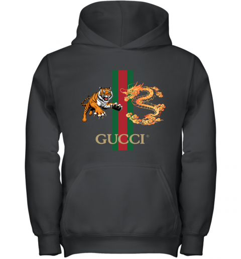 Gucci Tiger x Goden Dragon Design Youth Hoodie