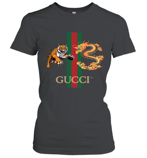 Gucci Tiger x Goden Dragon Design Women's T-Shirt