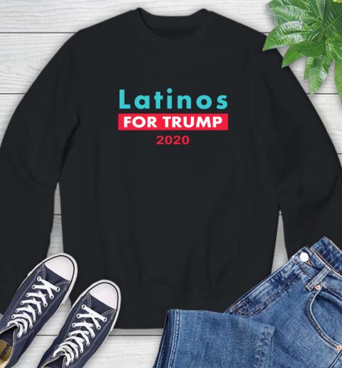 Latinos Trump 2020 Sweatshirt 2