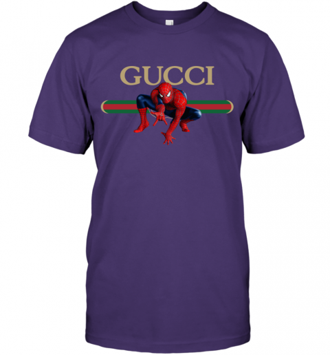 Gucci Logo Spiderman T-Shirt