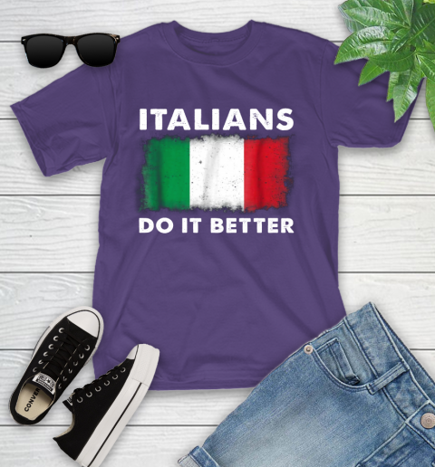Italians Do It Better Youth T-Shirt 3