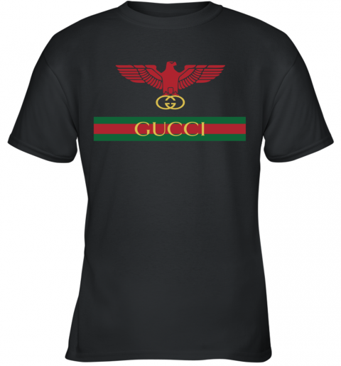Gucci Menswear Logo Eagle Fire Youth T-Shirt