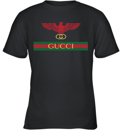 Gucci Menswear Logo Eagle Fire Youth T-Shirt