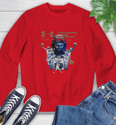 Stephen Curry I Can Do All Things Signature Sweatshirt 10