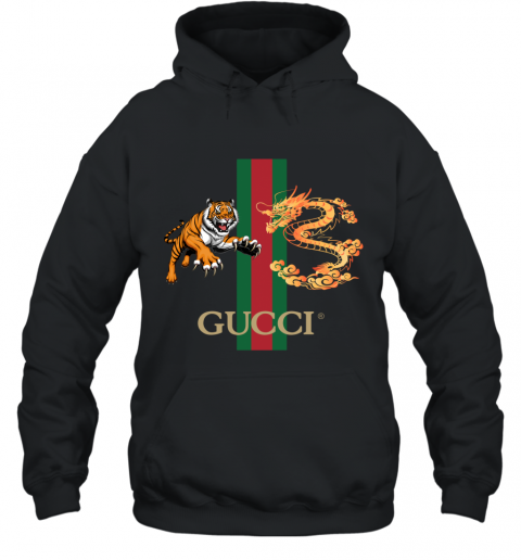 Gucci Tiger x Goden Dragon Design Hoodie