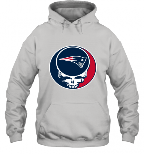 NFL New England Patriots Grateful Dead Rock Band Football Sports Hoodie
