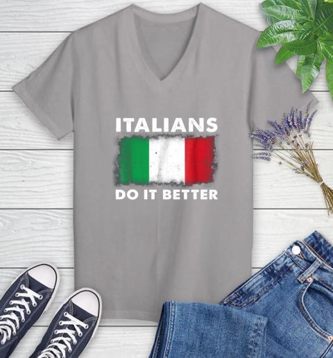 Italians Do It Better Women's V-Neck T-Shirt 4