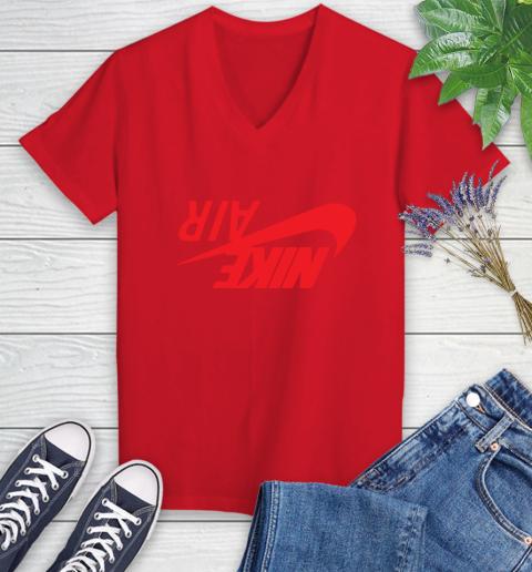 Travis Scott Cactus Jack Jordan Highest Women's V-Neck T-Shirt 7