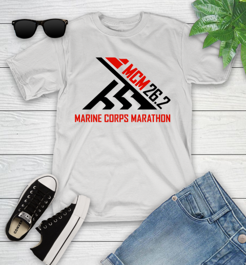 2018 Marine Corps Marathon Youth T-Shirt