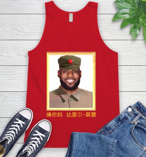 Barstool Lebron James China Tank Top 5