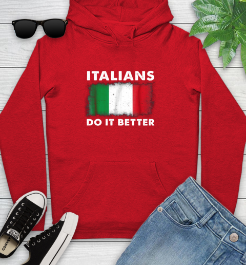Italians Do It Better Youth Hoodie 12