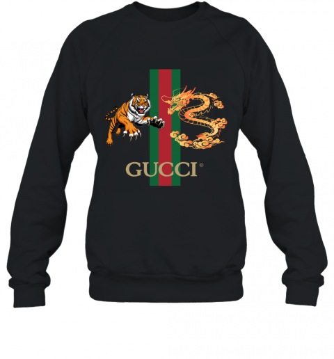 Gucci Tiger x Goden Dragon Design Sweatshirt