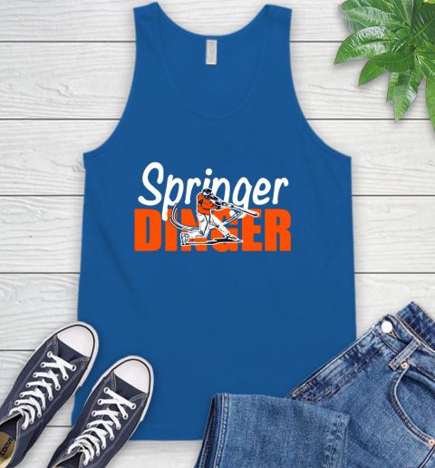 Houston Springer Dinger Fan Shirt Tank Top 4