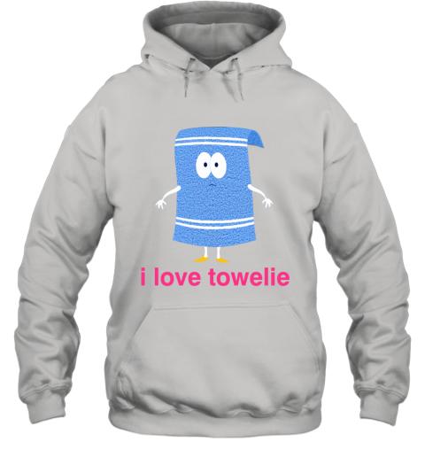 I LOVE TOWELIE PINK Hoodie