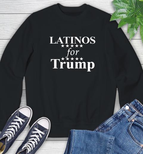 Latinos For Trump Sweatshirt 1