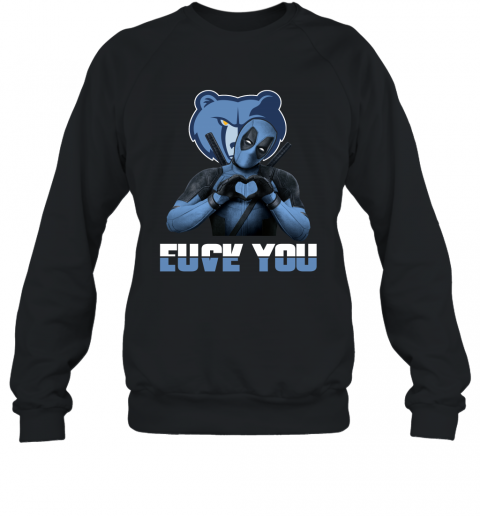 NBA Memphis Grizzlies Deadpool Love You Fuck You Basketball Sports Sweatshirt