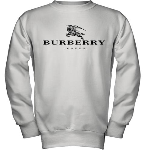 Burberry black logo Youth Sweatshirt