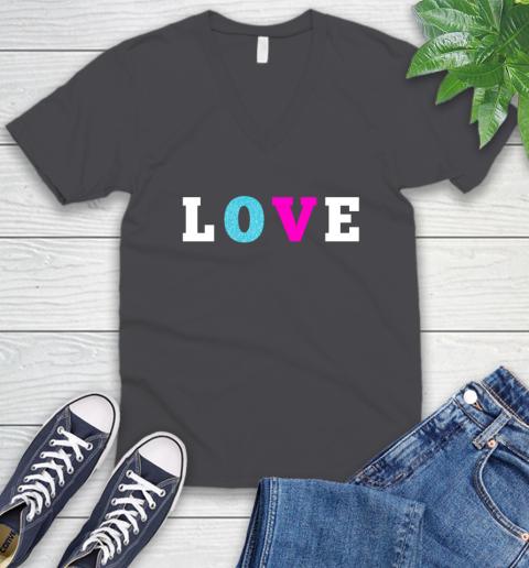 Love Shirt Savannah Guthrie V-Neck T-Shirt 4