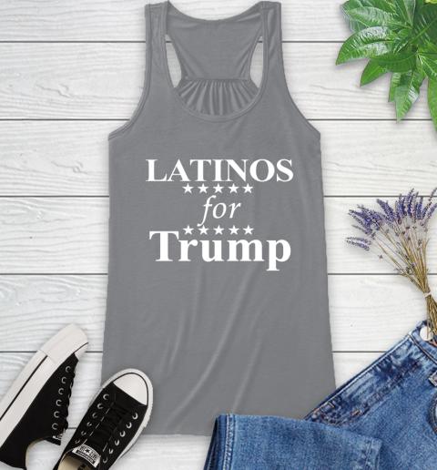 Latinos For Trump Racerback Tank 4