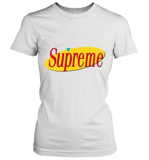 Supreme Seinfeld Logo Women's T-Shirt