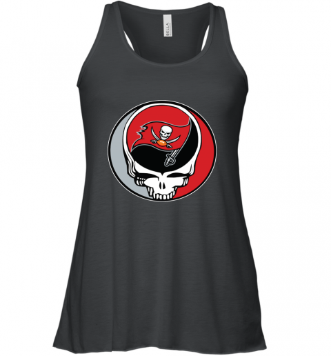 Tampa Bay Buccaneers Grateful Dead Steal Your Face Football NFL Women's Tank Top