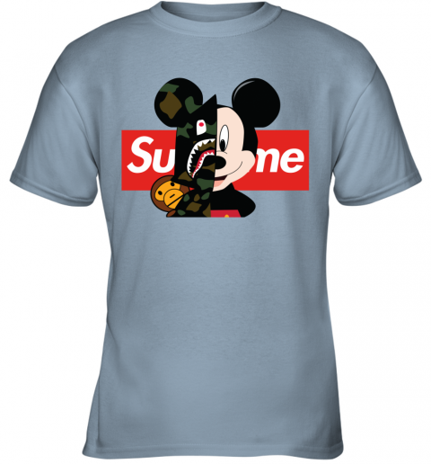 supreme bape t shirt