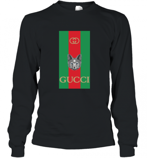 Gucci Logo Wolf Long Sleeve T-Shirt