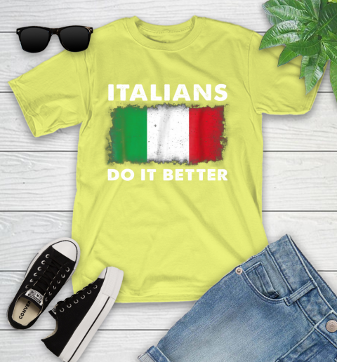 Italians Do It Better Youth T-Shirt 10
