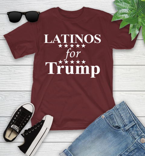 Latinos For Trump Youth T-Shirt 14
