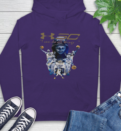 Stephen Curry I Can Do All Things Signature Hoodie 5