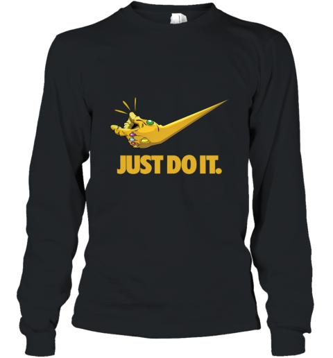 Just Do It Infinity Gauntlet – Thanos Nike Logo Long Sleeve T-Shirt
