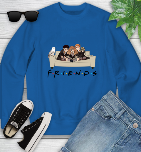 Harry Potter Ron And Hermione Friends Shirt Youth Sweatshirt 4