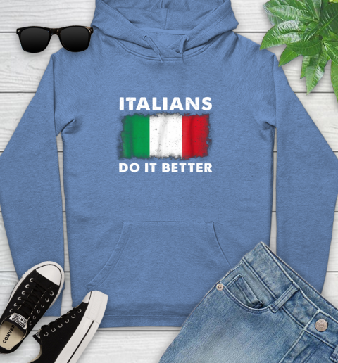 Italians Do It Better Youth Hoodie 13
