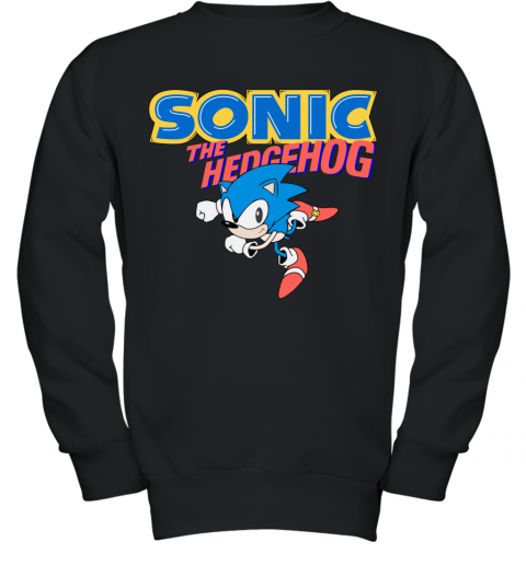 SEGA SONIC THE HEDGEHOG Youth Sweatshirt