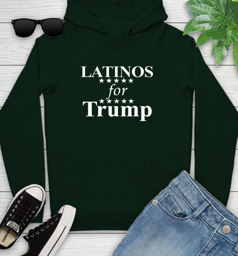 Latinos For Trump Youth Hoodie 14