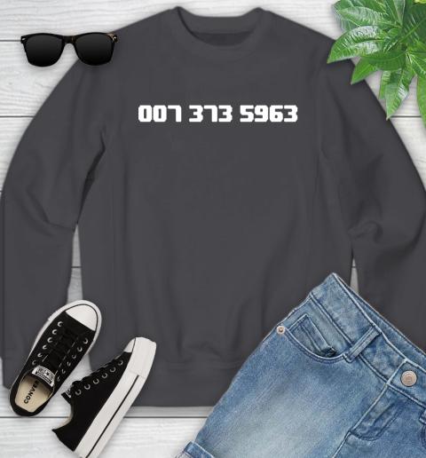 007 373 shirt Youth Sweatshirt 5